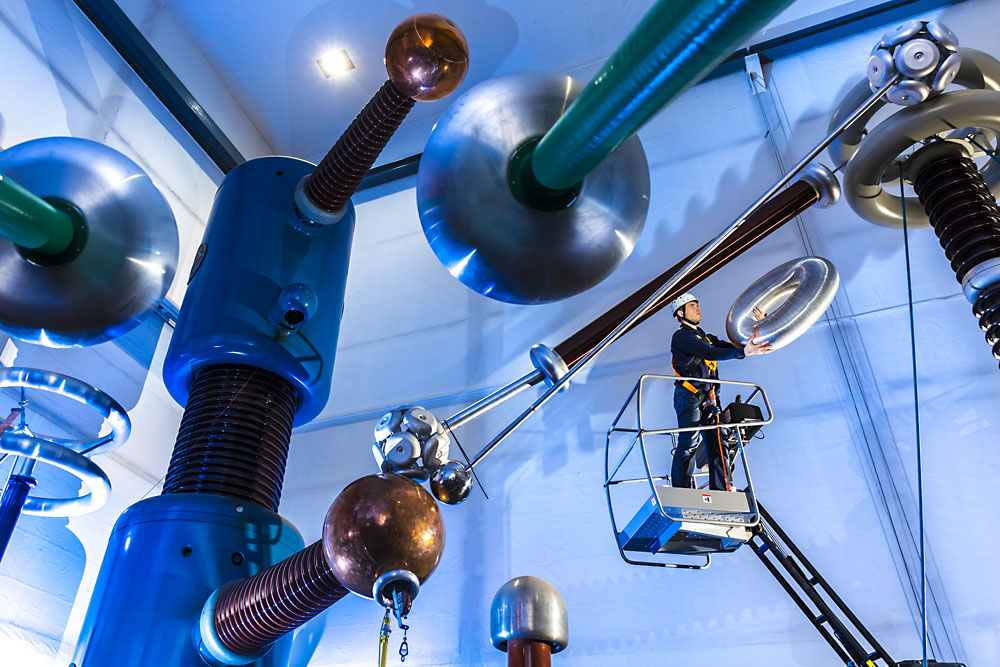 RWE - Dauerausstellung im Präsidialraum des Konzerns