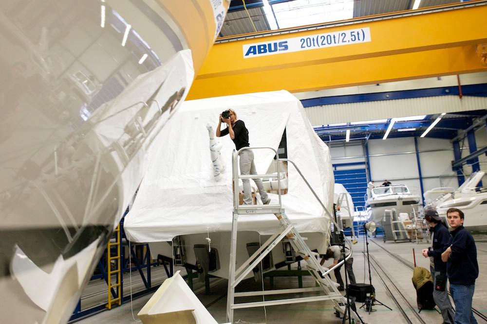 Industriefotograf en Ahrens+Steinbach Projekte: am Ende eines Tages.